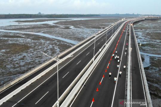 Jasamarga catat jalan tol di Bali turun 76 persen semester I 2021