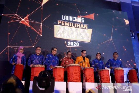 KPU luncurkan Pemilihan Gubernur Sulteng 2020, maskot dan jingle