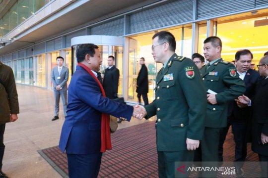 Menhan Prabowo lawatan ke China