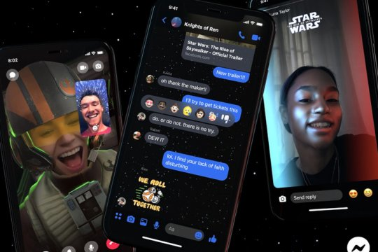 "Facebook bawa ""Star Wars: The Rise of Skywalker"" ke Messenger"