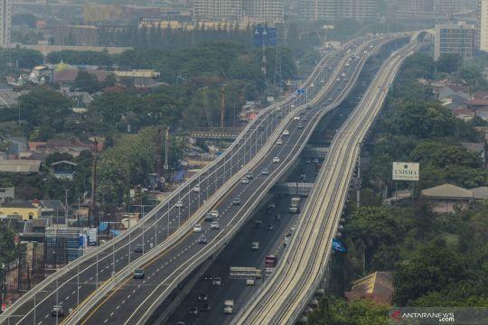 Volume kendaraan di Jabar meningkat 40 persen saat libur Natal
