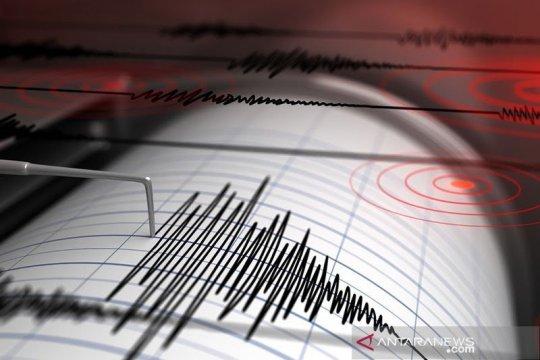 Gempa magnitudo 5,5 guncang barat laut Halmahera Barat