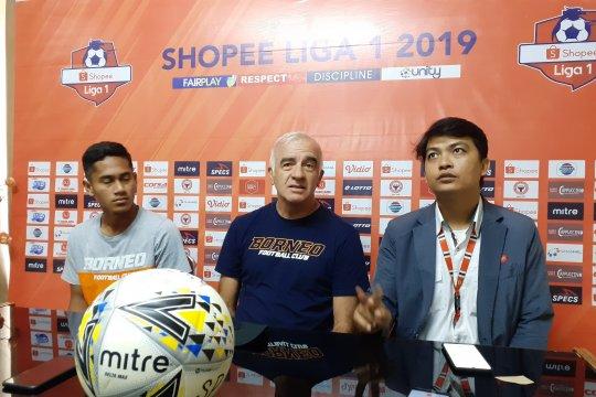 Borneo FC incar kemenangan di kandang Semen Padang