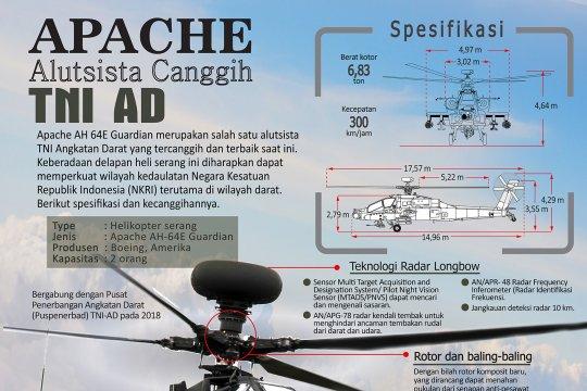 Apache alutsista canggih TNI AD