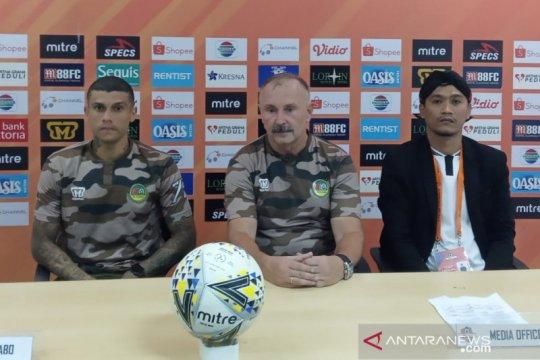 Pelatih Tira Persikabo kecewa hasil imbang lewan Persela Lamongan
