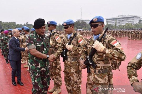 Kasum TNI lepas 1.234 diplomat militer ke Lebanon