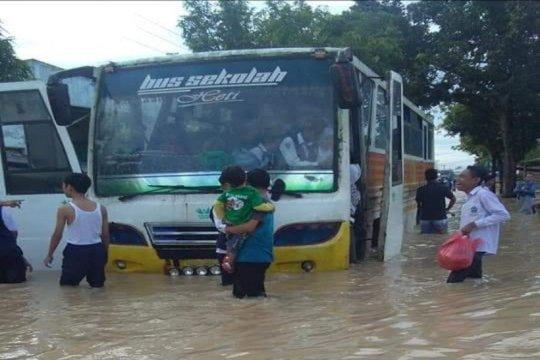 Banjir genangi hampir semua wilayah Kota Tebing Tinggi