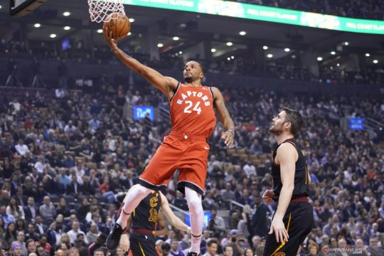 NBA : Toronto Raptors melawan Cleveland Cavaliers