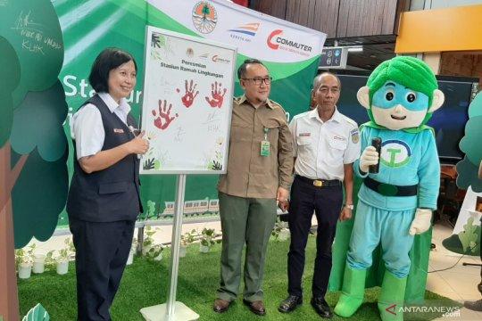 KLHK dan PT KCI luncurkan tiga Stasiun Ramah Lingkungan
