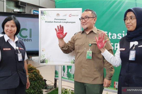PT KCI akan berlakukan konsep  ramah lingkungan di semua stasiun