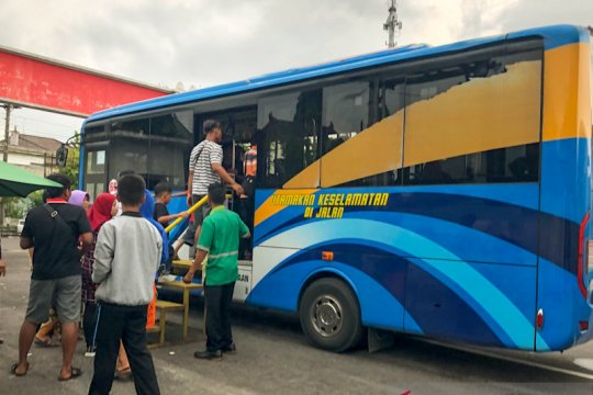 Parkir alternatif bus pariwisata timur Amongrogo akan kembali dibuka