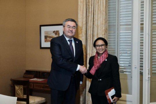 Peningkatan kerja sama ekonomi fokus pertemuan menlu RI-Kazakhstan