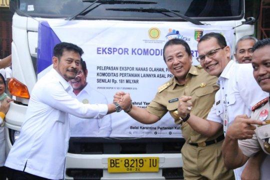 Mentan: Gubernur punya energi jadikan Lampung lokomotif pertanian