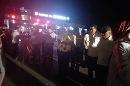 Menteri PUPR tinjau kesiapan jalan tol Balikpapan-Samarinda