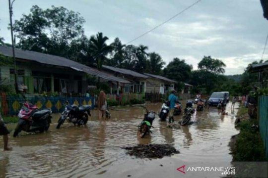 Dua nagari di Solok Selatan Selatan diterjang banjir