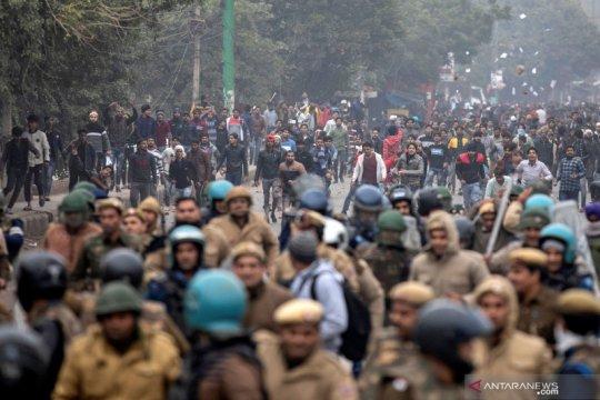 Bentrokan meletus di Ibu Kota India memprotes UU kewarganegaraan