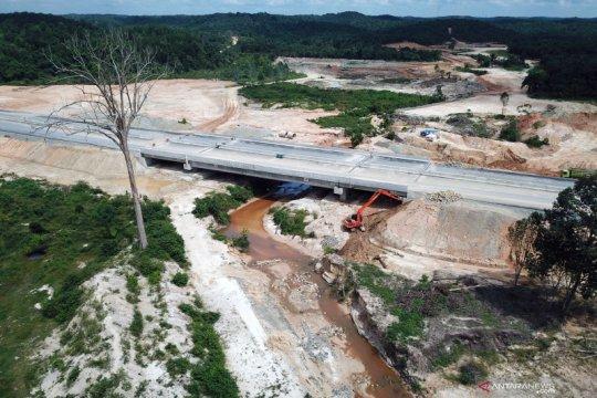 HK: Pembangunan terowongan gajah tol Pekanbaru-Dumai capai 50 persen
