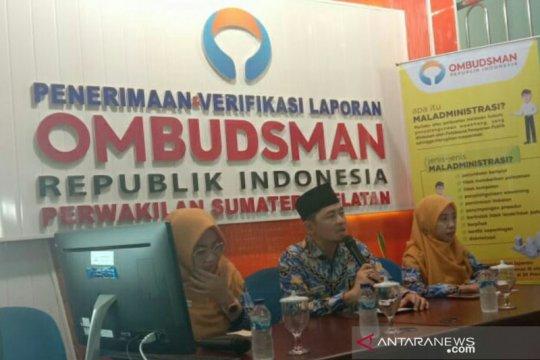 Ombudsman Sumsel terima 128 pengaduan masyarakat