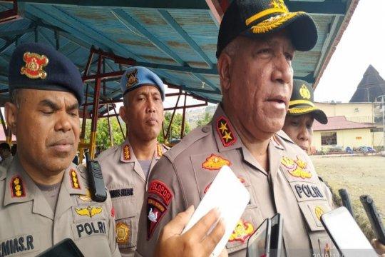 Kapolda: Kontak tembak dengan KKB di Intan Jaya, dua prajurit terluka
