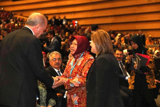 Saat Presiden Turki Erdogan kagumi kinerja Wali Kota Surabaya
