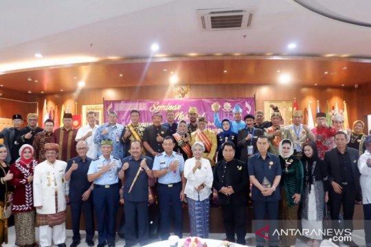 24 raja dan sultan kumpul di Unpak Bogor