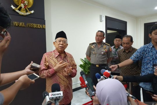 Ma'ruf Amin tanggapi pencalonan putrinya di Pilkada Kota Tangsel