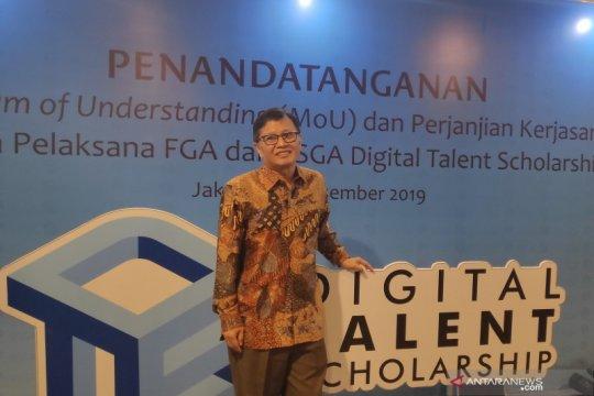 Kominfo gandeng perusahaan rintisan lokal dorong digitalisasi UMKM