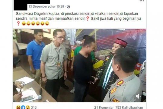 Video permintaan maaf pelaku persekusi Banser NU, hanya sandiwara?