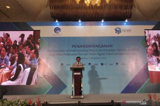 Menkominfo harapkan Indonesia hasilkan talenta digital yang unggul