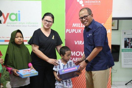 Milenial Pupuk Indonesia galang dana untuk anak penderita kanker