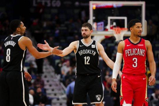 Nets paksa Pelicans telan kekalahan ke-13 berturut-turut
