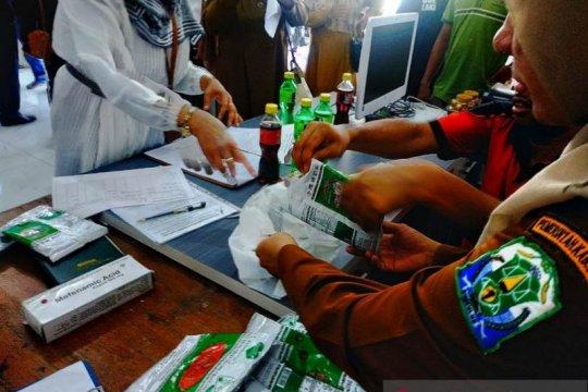 BBPOM Banda Aceh proses hukum penyelundup teh hijau asal Thailand