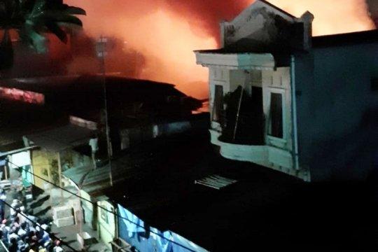 17 rumah hangus terbakar di Makassar