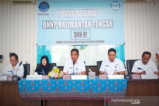 BNNP Kalteng sita 7 kilogram sabu-sabu selama 2019