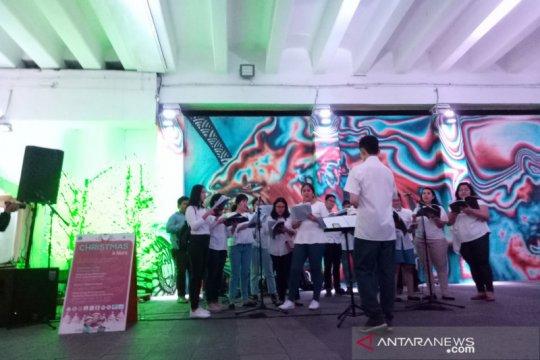 Masyarakat Jakarta antusias nikmati hiburan 'Christmas in Jakarta'
