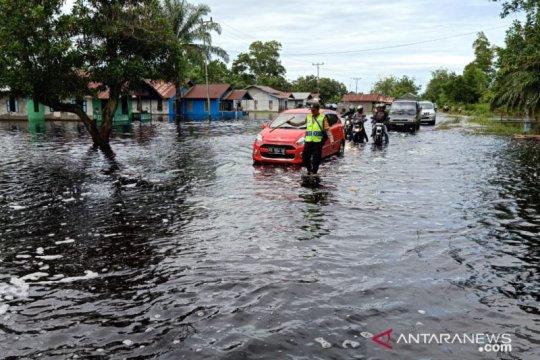 Ratusan rumah di Sungai Ambawang terendam banjir