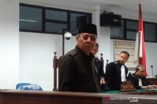 Jaksa tolak nota pembelaan mantan Bupati Simeulue