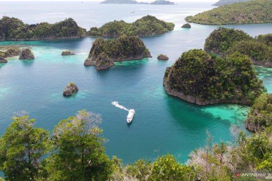 Kapal Pesiar dilaporkan kandas di terumbu karang Raja Ampat