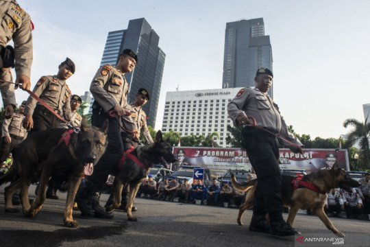Operasi Lilin Jaya 2019 libatkan 1.800 personel di Jakarta Utara