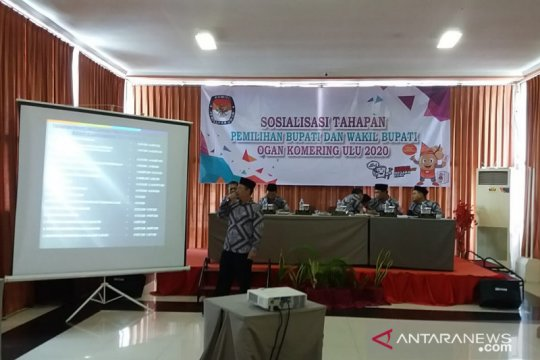 KPU Ogan Komering Ulu sosialisasikan tahapan Pilkada 2020