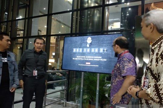 """KPK luncurkan kembali """"monumen waktu"""" jelang 1.000 hari kasus Novel"""
