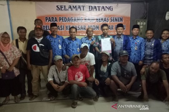 Sah! PKL Pasar Senen pindah ke Metro Atom Pasar Baru