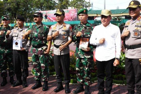 Panglima TNI berikan penghargaan kepada prajurit TNI-Polri berprestasi