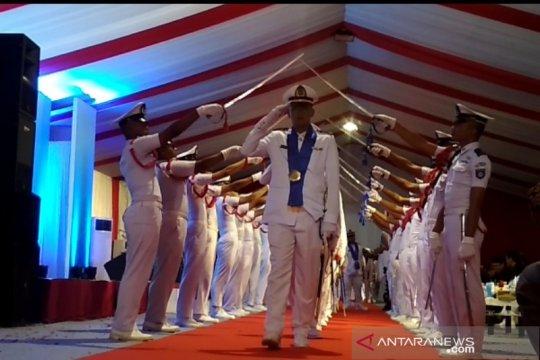 Lulusan perdana perwira pelayaran niaga dihasilkan SMK Wiskar Kudus