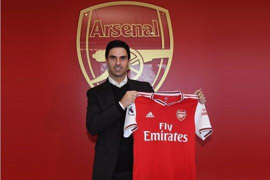 Arsenal resmi umumkan penunjukan Arteta