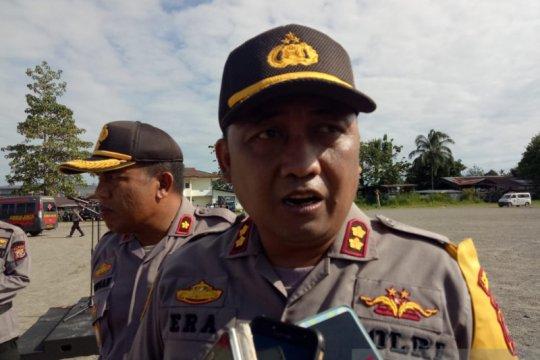 Kapolres Mimika ingatkan anggota waspada saat patroli di daerah rawan