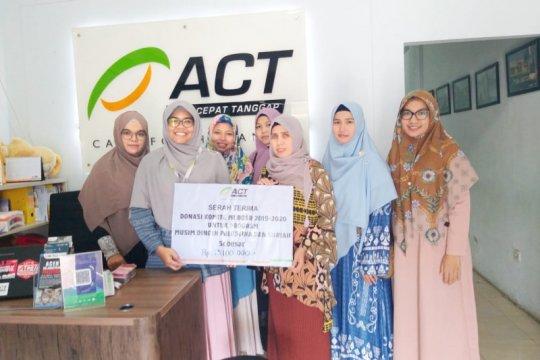 BQSR salurkan Rp13 juta bagi Palestina dan Suriah melalui ACT Aceh