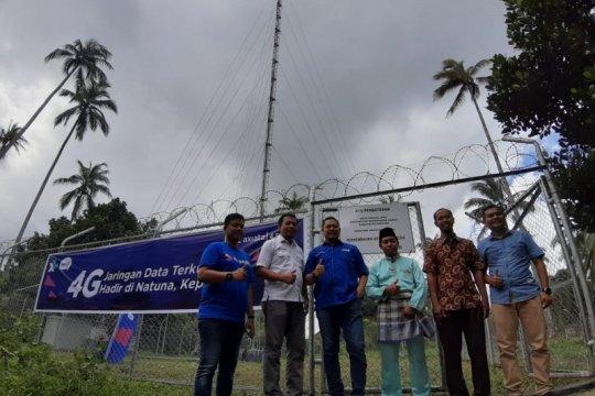 Jaringan telekomunikasi dan data 4G hadir di pelosok Natuna Kepri