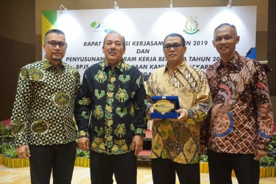 BPJAMSOSTEK DKI Jakarta dan Kejati berhasil tagih  Rp. 73,4 miliar