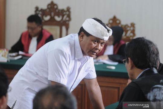 Mantan wagub Bali I Ketut Sudikerta dihukum 12 tahun penjara